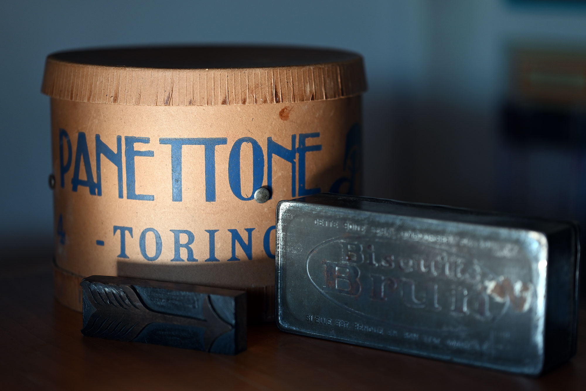 scatola vintage panettone