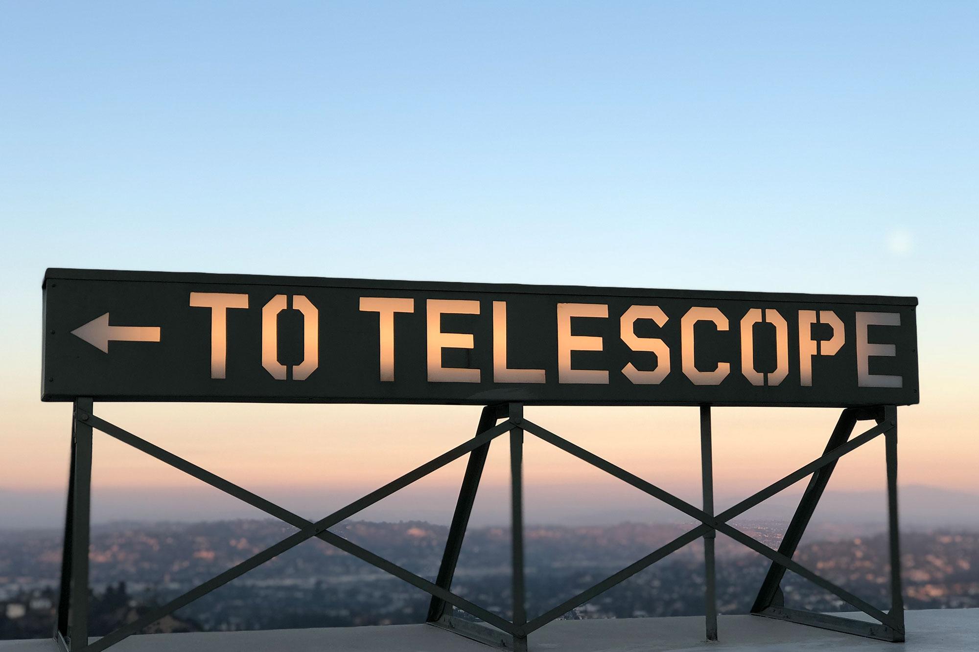 cartello to telescope