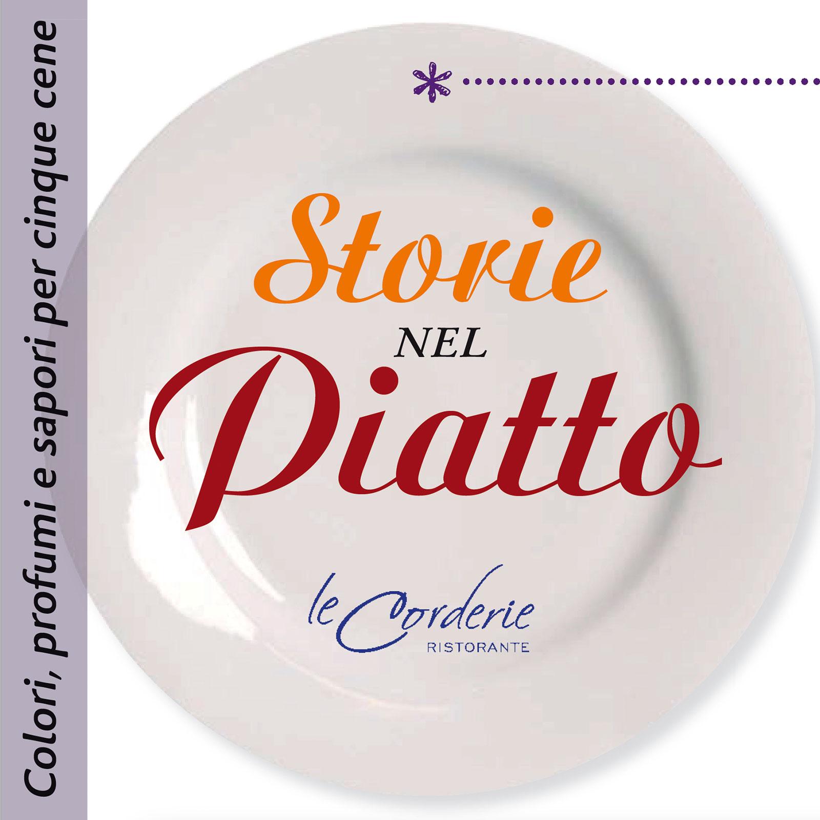 """copertina flyer """"Storie nel piatto"""""""